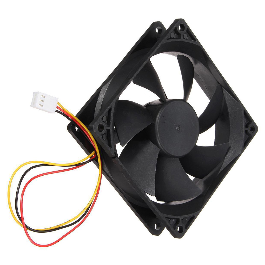 3 Pin 90mm 25mm Cooler Fan Heatsink Cooling Radiator For Computer PC CPU 12V computer vga cooler radiator with heatsink heatpipe cooling fan for asus strix gtx960 dc2oc 4gd5 grahics cards cooling system