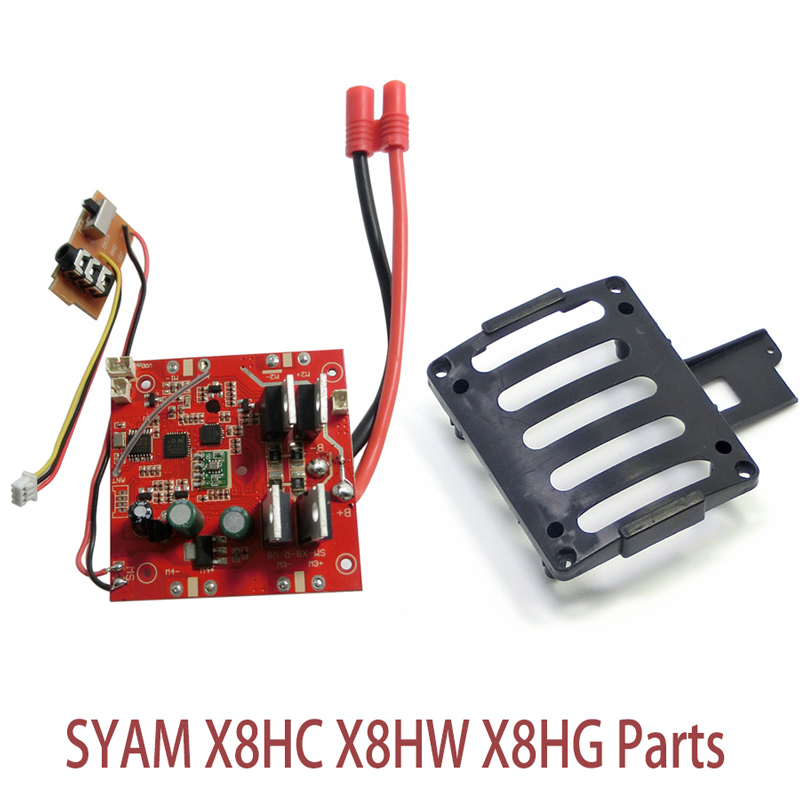 Syma X8HC Original Receiver Main Board And Frame Base For RC Quadcopter Syma X8HW X8HG Spare Parts h22 007 receiver board spare part for h22 rc quadcopter