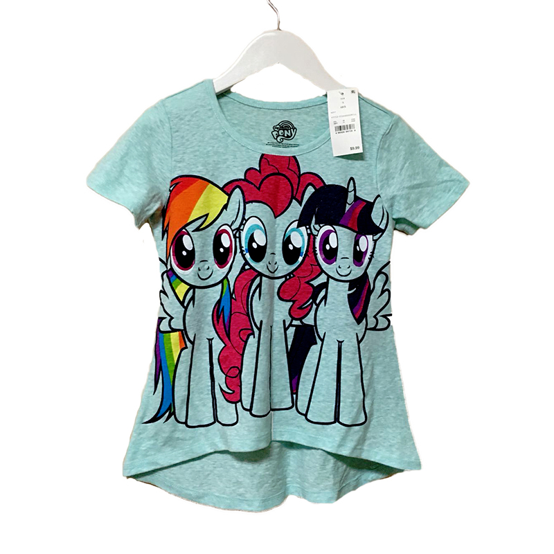 Little Pony T Shirt Girls Cotton Short Sleeve 4 8y Kids