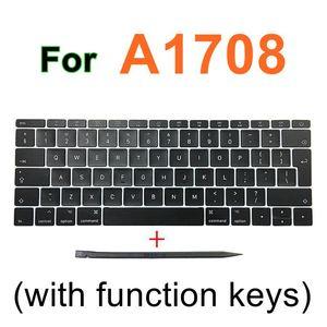 "Image 5 - Faishao New Full Set For Macbook Pro Retina 13""15"" A1706 A1707 A1708 2016 2017 12"" A1534 2017 UK Keyboard Keycaps Key Cap"