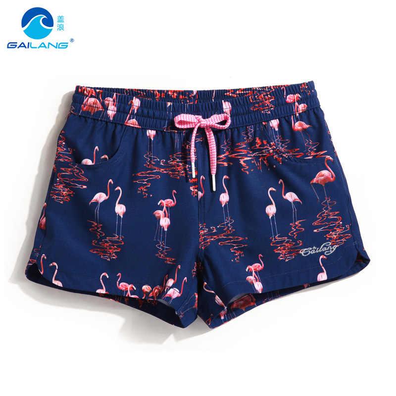 Пары пляжные шорты женские купальники лайнер пот беговые шорты быстросохнущие плавательные трусы бермуды купальный костюм сексуальные шорты