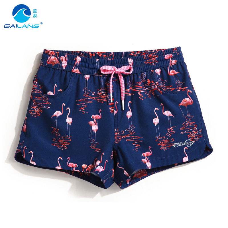 Couples beach shorts womens swimwear liner sweat running shorts quick dry swimming trunks surf bermudas swimsuit sexy shorts