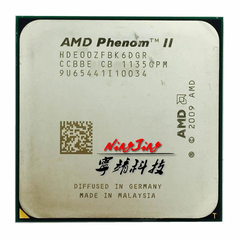 AMD Phenom II X6 1100T 1100 3 3 GHz Six Core CPU Processor HDE00ZFBK6DGR Socket AM3