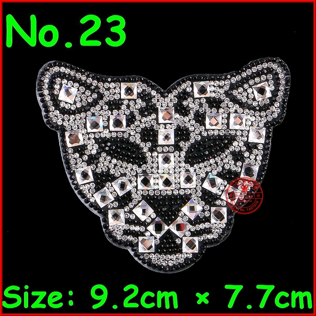 1 pcs lot Crystal Patches Hot Fix Shiny Motifs Iron On Rhinestones Patches  Badge For Clothes Patch Women Wedding 41290fef6391