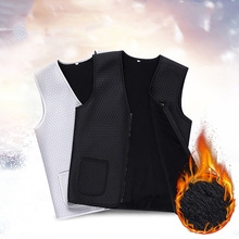 2019 Unisex Outdoor USB Infrared Heating Jacket Men And Women Flexible Electric Thermal Clothing For Sports Hiking