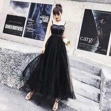 Titotato Summer Lace Sling Sexy Women Party Dress Elegant Woman Long Black Camisole Plain Solid Top Vestidos Plus Size Zipper