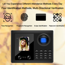 Eseye Biometric Fingerprint Time Attendance System Reader Clock Recorder Employee For Office