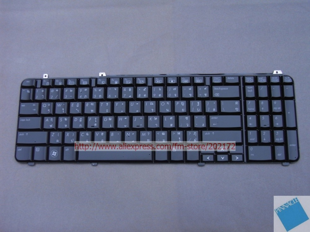 Brand  New Black  Laptop  Notebook Keyboard 537255-281 AEUT3-00120 For HP COMPAQ DV6  series Thailand 100%  compatiable us brand new black laptop notebook keyboard 344390 bb1 349181 bb1 for hp compaq nx5000 nx9040 series hebrew