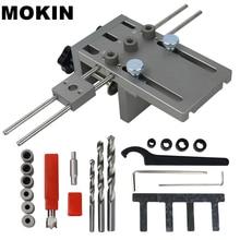 Деревообрабатывающий устройство Doweling 6/8/10 мм тонкий пояс, который крепится на локатор отверстие направитель сверла для установки мебели, соединяющей позицию инструменты