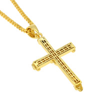 Bird Feathe necklace cross