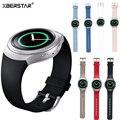 Nova substituição silicone strap pulseira para samsung galaxy gear s2 bsm-r720 watch grande/pequeno tamanho 16 cor
