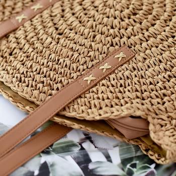 Handmade Rattan Women Shoulder Bags  6