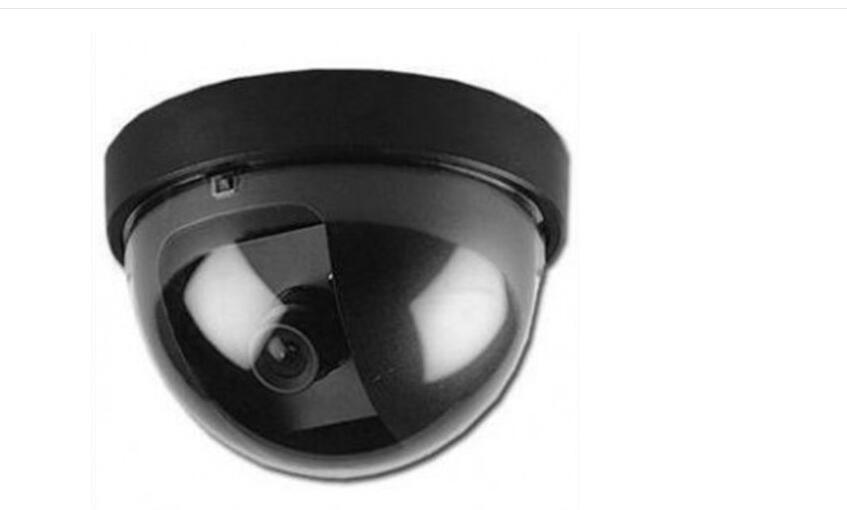 Hot sale Outdoor Indoor Surveillance Camera Dummy Fake CCTV Security Dome Camera with Flashing Red LED Light