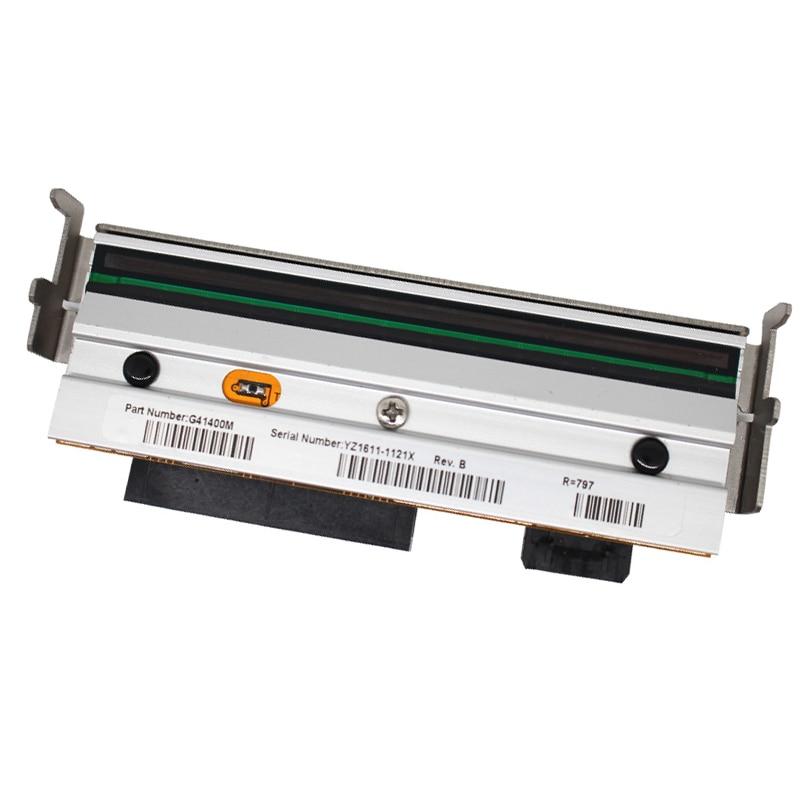 Nova cabeça de impressão Para Zebra G41400M S4M suprimentos Cabeça De Impressão 203 dpi impressora de código de Barras Térmica, Garantia 90 dias