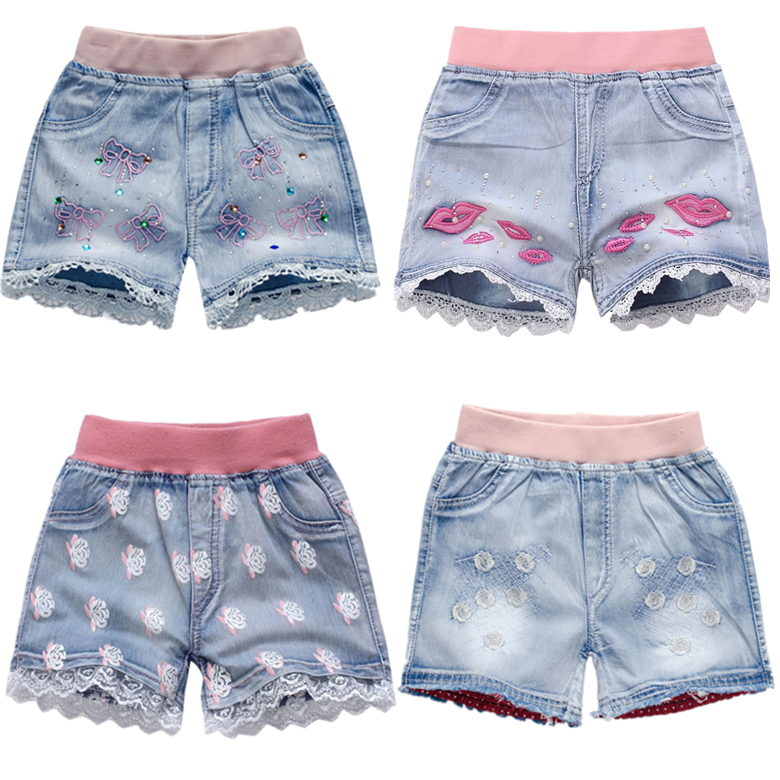 3-10T new fashion children kids short boys girls cartoon short wholesale casual children pants boys shorts jean free shipping