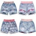 Новая мода дети дети короткие мальчики девочки мультфильм короткий оптовая случайные детей брюки мальчиков шорты жан бесплатная доставка
