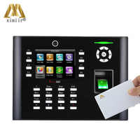 Linux system iclock680 IC card fingerprint time attendance and access control system fingerprint door lock TCP/IP communication