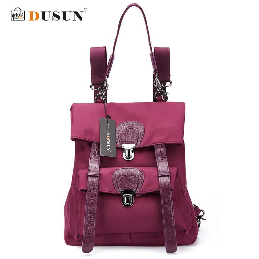 DUSUN Women High Quality Oxford Backpack Brand Design Mochila Women School Bag For Teenage Girls Fashion Women Backpack Hot Sale high quality cool 3d spiderman cartoon plush school bag fashion cute backpack gift for children mochila infantil hot sale