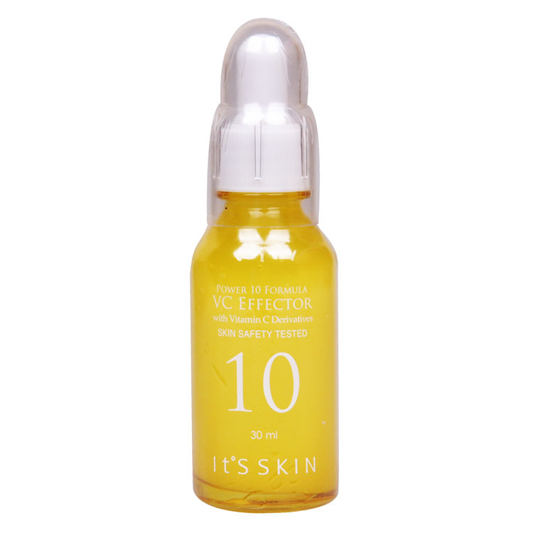 Original Its Skin Power 10 Formula VC Effector With Vitamin C Skin Safety Texted 30ml