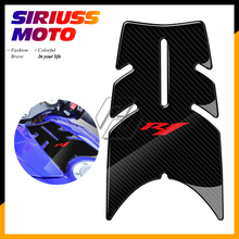 3D Motorcycle Front Gas Fuel Tank Cover Protector Tank Pad Case for Yamaha YZF-R1 R1 2004 2005 2006