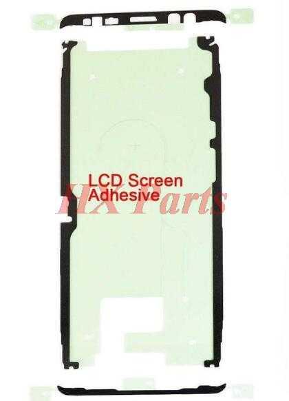 2 قطعة الأصلي LCD الإطار الأمامي لاصق ملصق لسامسونج غالاكسي نوت 8 N950 N950F شاشة الحافة الغراء ملصق الشريط إصلاح أجزاء
