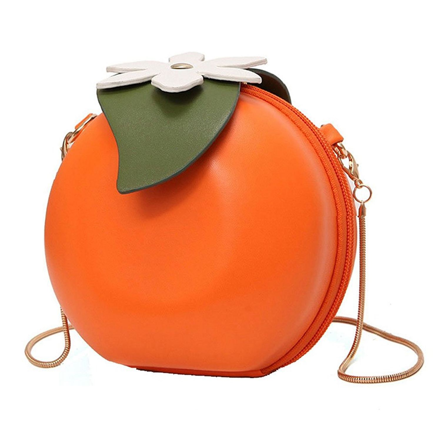 Cartoon Shape Shoulder Bags Women Leather Messenger Personality Chain Cute Bags