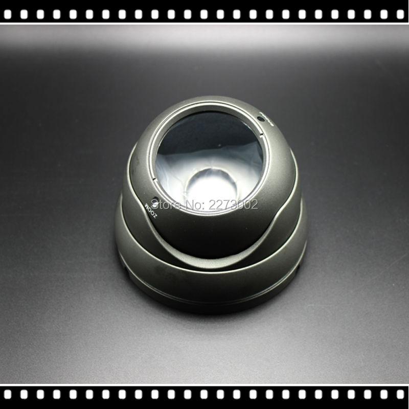 ФОТО Varifocal 2.8-12MM Metal IR Dome cctv camera housing for 36pcs IR LEDs Outdoor Indoor Security CCTV AHD IP Camera Vandalproof