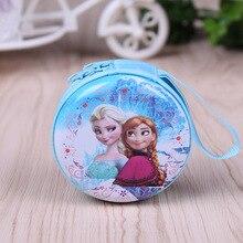 2017 Hot sale cartoon coin font b purse b font Elsa Anna princess girls key case