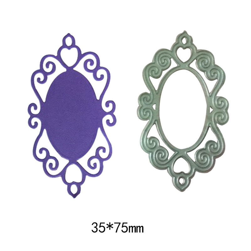 Dies Square lace Chrismtas Tree Edge Metal Cutting Dies Stencils Card Making Frame Background Craft Embossing Stamps in Cutting Dies from Home Garden