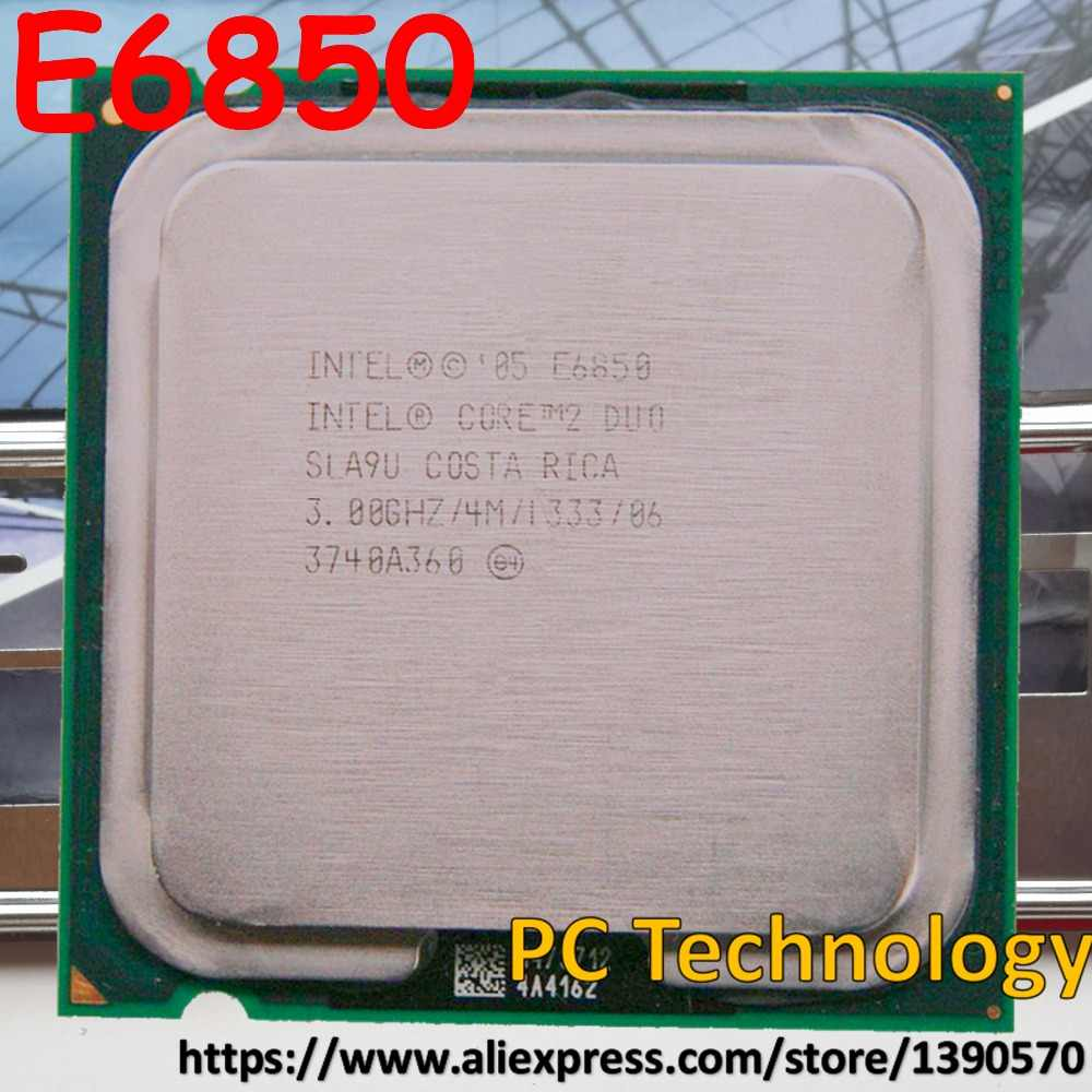 Original Intel core2 E6850 Desktop CPU 3.0GHz 4MB/1333MHz LGA775  Free shipping (ship out within 1 day)