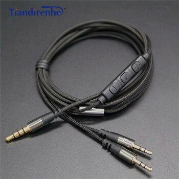 Câble Audio pour sol republique casque Master pistes X3 HD V8 V10 V12 écouteur 3.5mm mâle à 2.5mm mâle M/M câble de remplacement