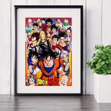 Dragon Ball Z Anime Artwork Posters and Prints Wall art Decorative Picture Canvas Painting For Living Room Home Decor Unframed predator movie figure artwork posters and prints wall art decorative picture canvas painting for living room home decor unframed