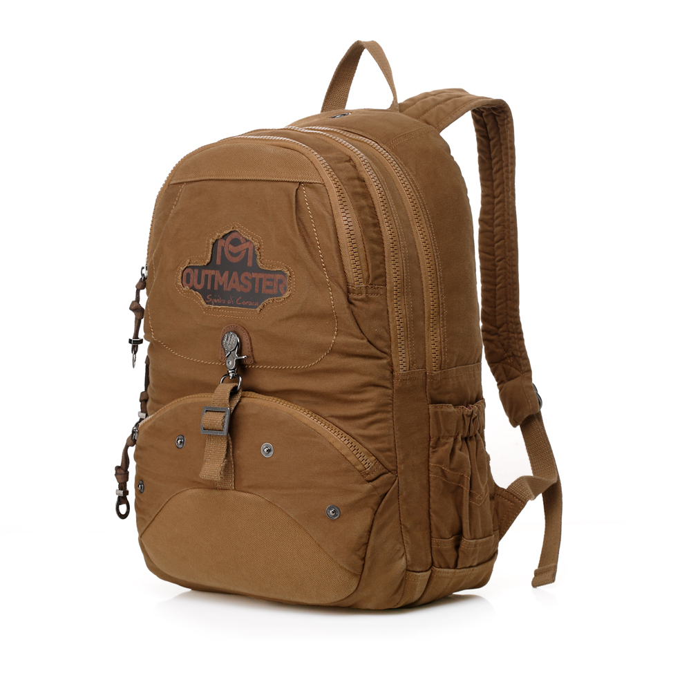 Vintage Style Retro Canvas Backpack College Students High School Boys Shoulder Leisure Bags Backpacking Bags