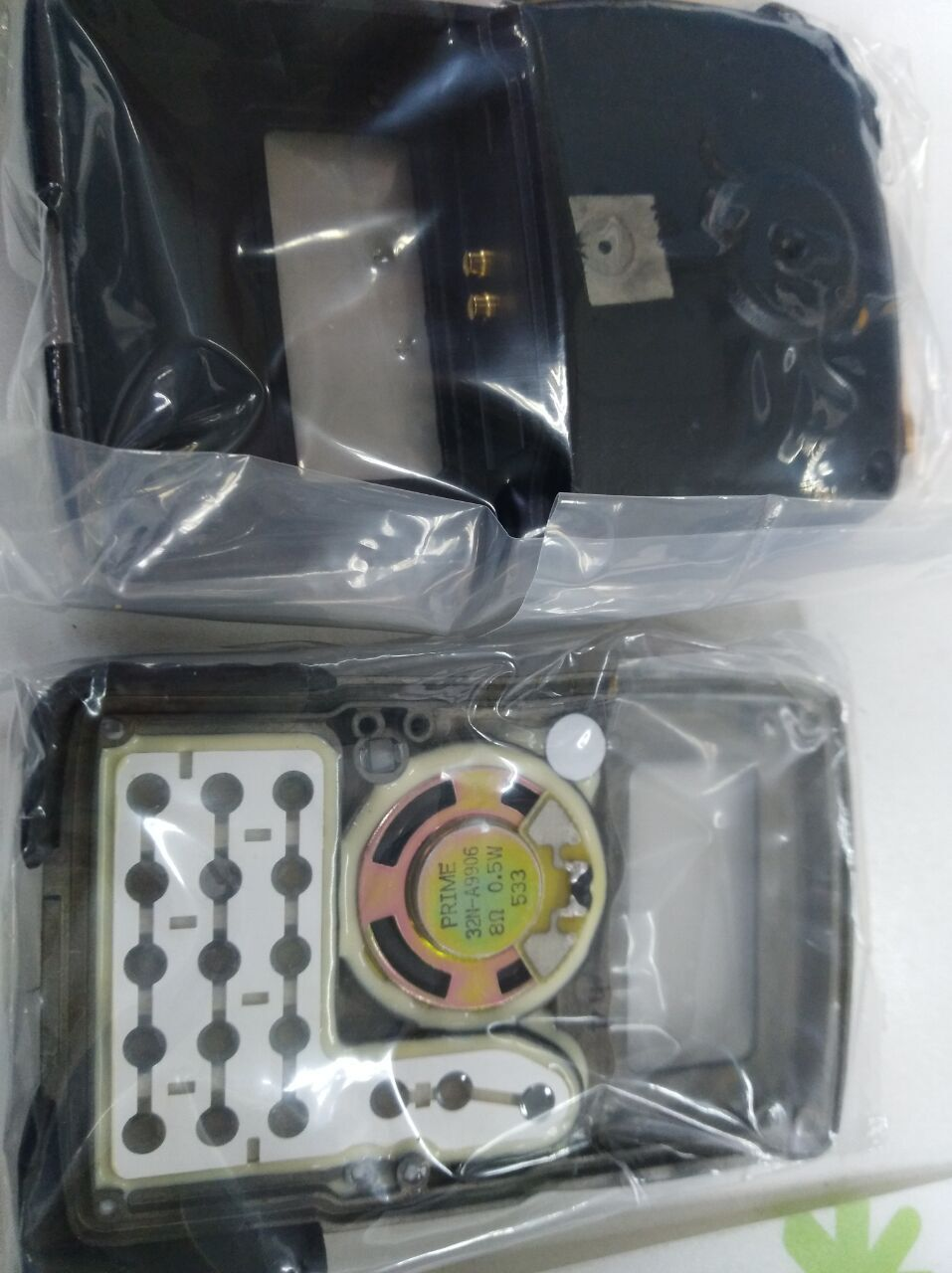 NEW Yaesu CP7346003 black Panel AssyFront Case Housing wKeypad and back case for VX-7RS VX-7R