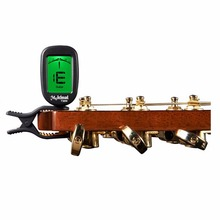 1pc Mini Clip-on Clip on LCD Display Guitar Tuner Backlight for Guitar Chromatic Bass Violin Banjo Chromatic Tuner T30W Hot LCD