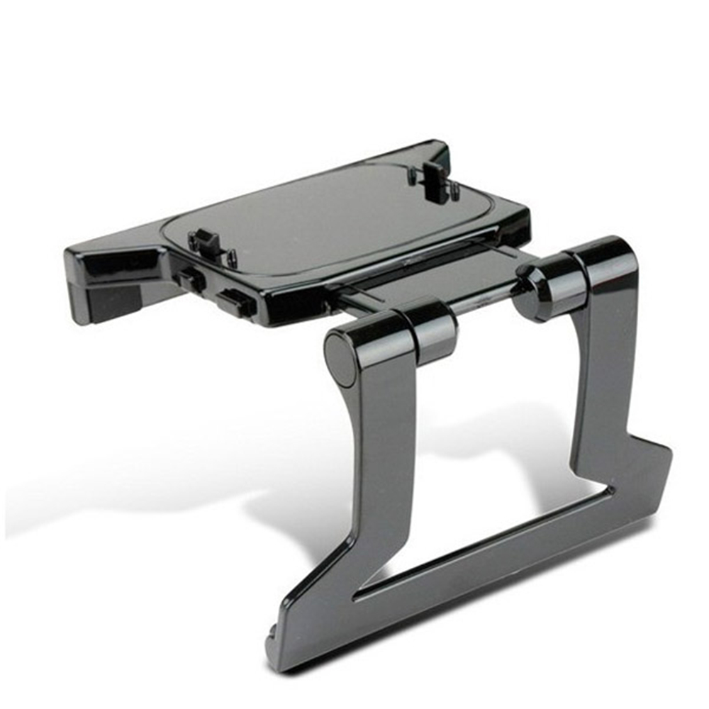 Gasky TV Clip Clamp Adjustable Mount Mounting Stand Holder for Microsoft Xbox 360 Xbox360 Kinect Sensor