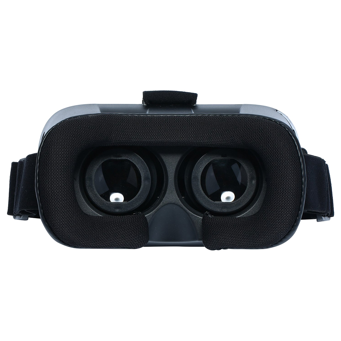 HFES Universal ABS VR01 3D VR Virtual Reality Headset 3D Glasses for 4.7″-6.0″ Smart Phone black