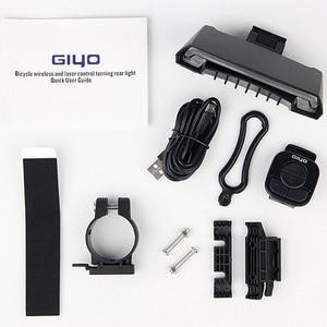 Image 5 - Велосипедный задний фонарь GIYO, зарядка через USB, поворотники, Аккумуляторный блок