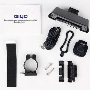 Image 5 - GIYO batterie Pack vélo lumière USB Rechargeable montage vélo lampe arrière feu arrière Led clignotants vélo lumière vélo lanterne