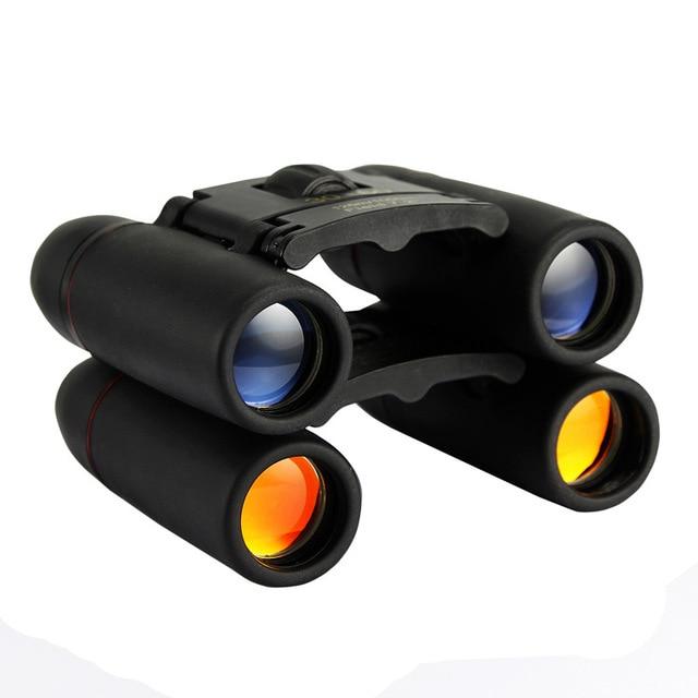 30x60 126m/1000m  Waterproof Binoculars  Camping Hunting Scopes Red film and blue film pocket binocular night vision binoculars