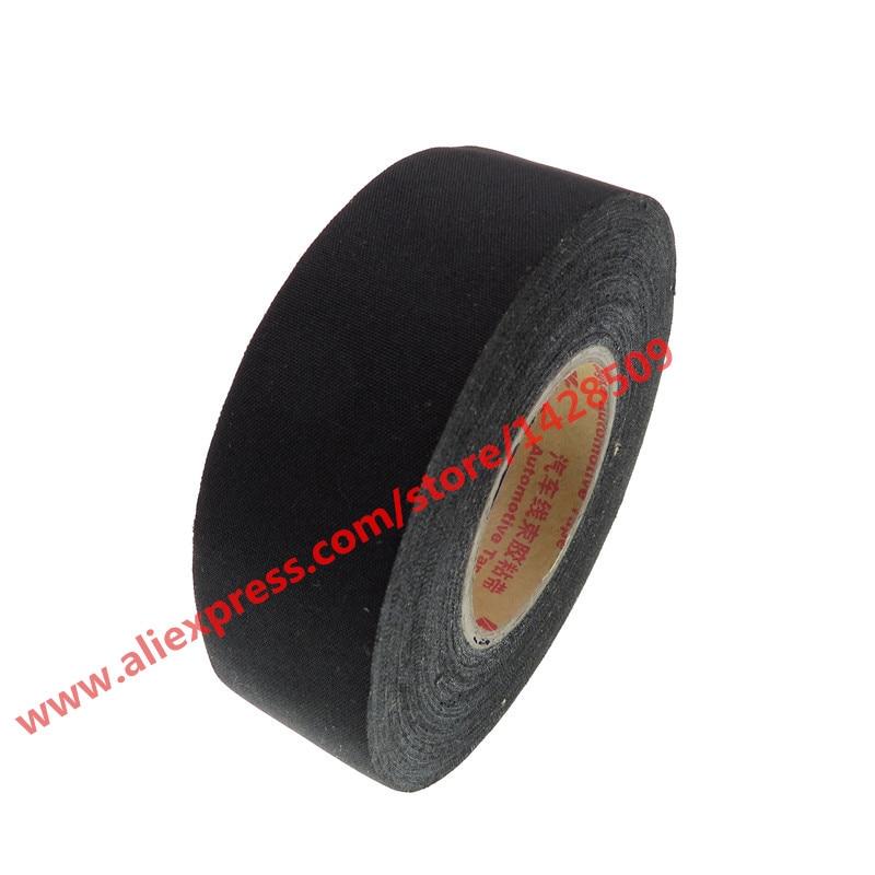 19mmx15m Universal Canvas Tape Automotive Wiring Harness Black Car