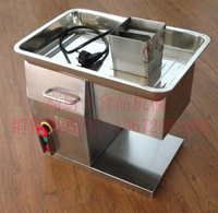 Free shipping Wit CE 110v 220V QX A desktop meat cutting machine meat slicer Meat Cutter