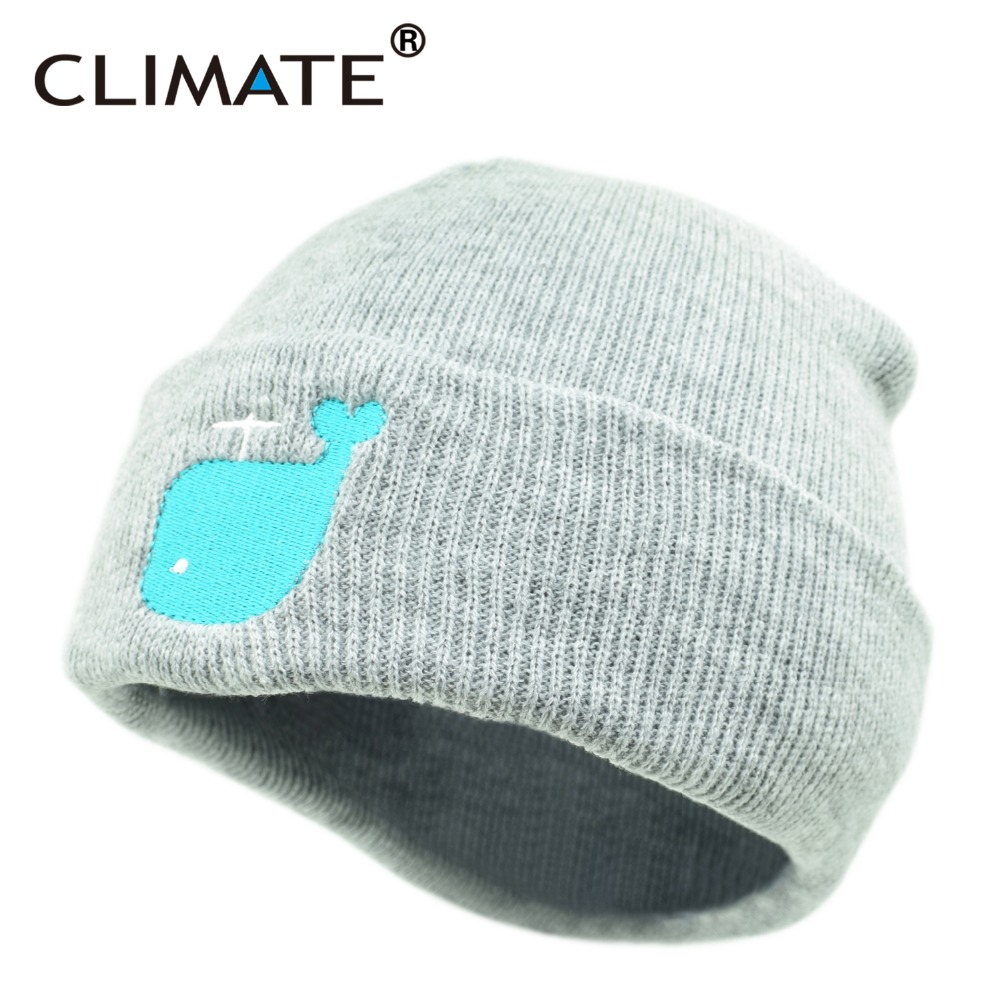 CLIMATE Lovely Cute Pink Macarons Whale Dolphin Embroidery HipHop Winter Warm Knitted Beanie Hat For Adult Men Teenagers 05 lovely pink
