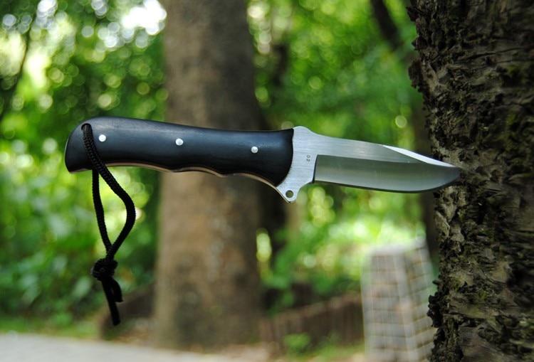 Darmowa wysyłka Rainbow Nóż Myśliwski Noże Survivalowe Fixed - Narzędzia ręczne - Zdjęcie 3