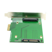 Great Q PCI E 3.0 x4 Lane to U.2 U2 Kit SFF 8639 Host Adapter for Intel Motherboard & 750 NVMe PCIe SSD