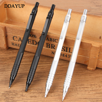 1pcs/lot Cute Mechanical Pencil Lapiz 0.5mm Mechanical Pencils Metal Shell Office & School Stationery Writing Supplies