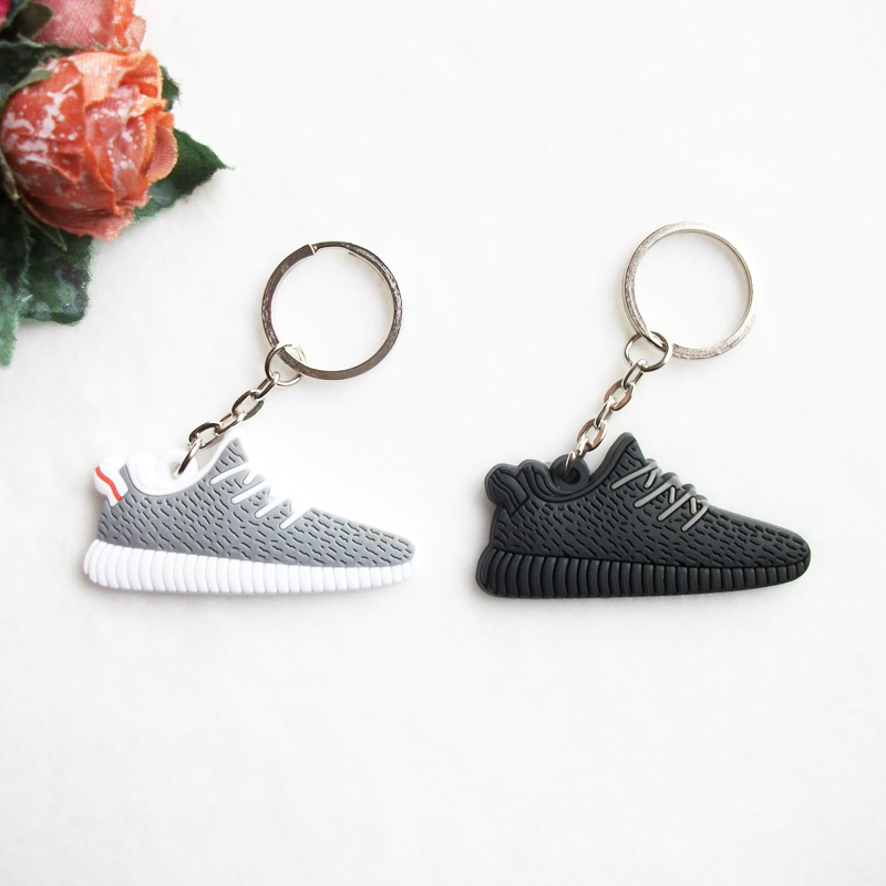 Mini Silicone Yeezy Boost 350 Keychain Bag Charm Woman Men Kids Key Ring Gifts  Sneaker Key Holder Jordan Shoes Key Chain-in Key Chains from Jewelry ...