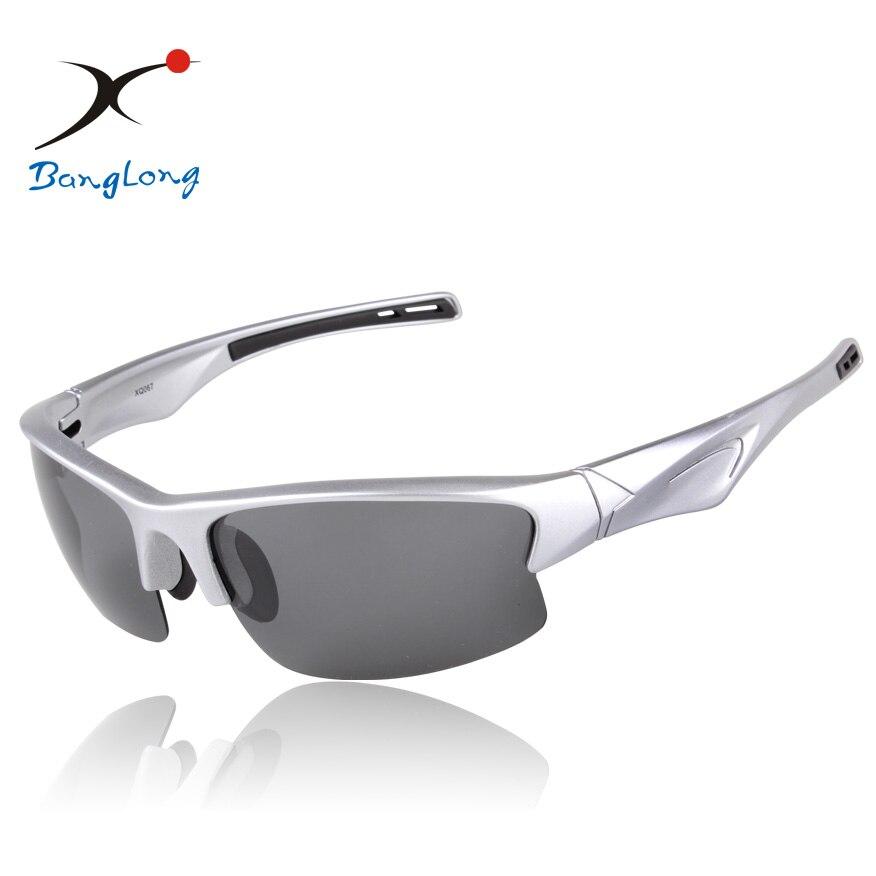 275e376fa46fb9 Argent violet noir couleur cadre Polarisé gris objectif lunettes de sport  cadre Coloré italie conception appropriée pour la pêche lunettes