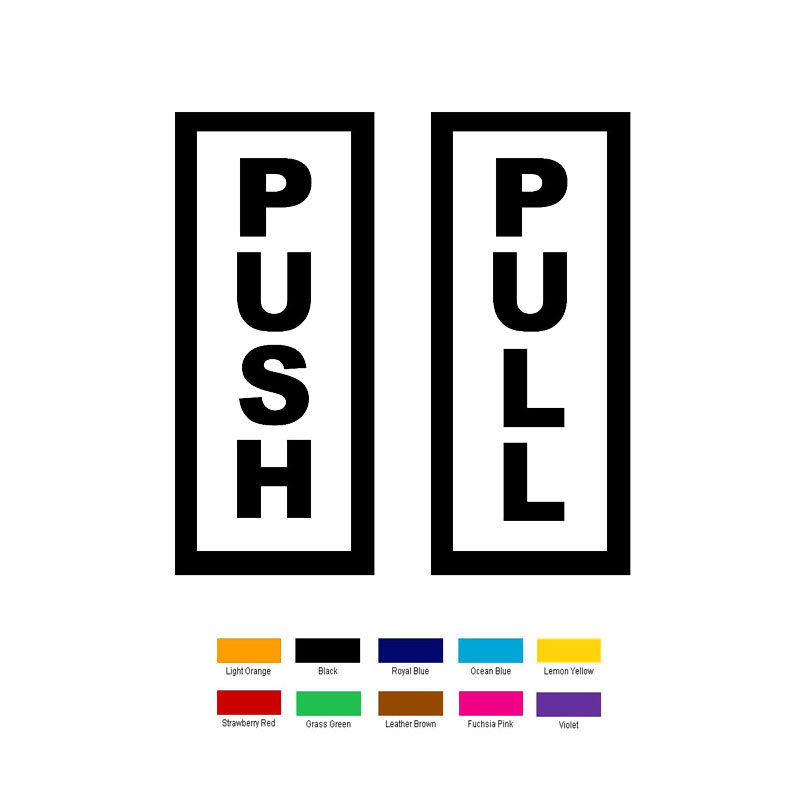 sc 1 st  AliExpress.com & Buy push pull door sign and get free shipping on AliExpress.com pezcame.com