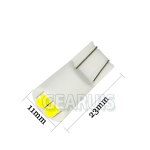 Image 4 - 100 T10 4 SMD 3030 LED 501 w5w 194 168 60MA wedges car interior instrument Reading Lights Luggage Car Door Light LED White